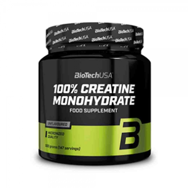 100% Creatina monohidrata, BioTech USA, 500g 0