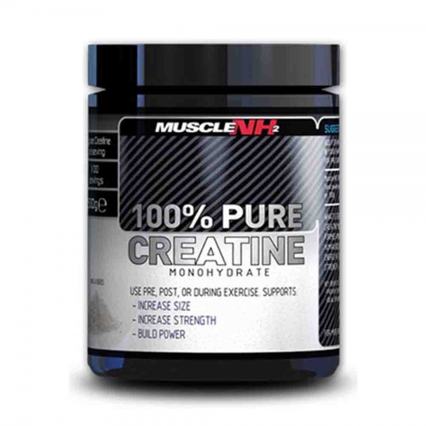 100% Creatina Monohidrata, Muscle NH2, 500g