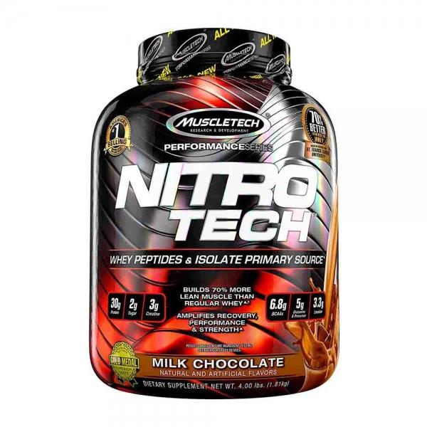 NitroTech, MuscleTech, 1800g