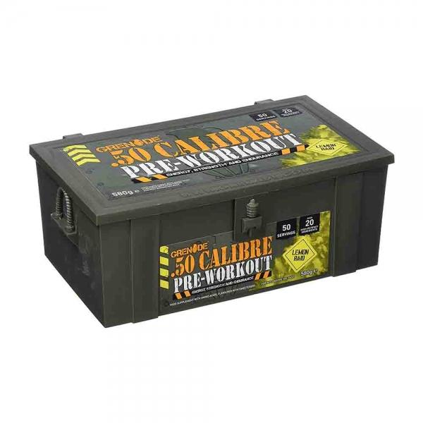 Grenade 50 calibre, 580g/50 serviri