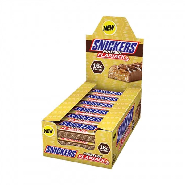 Snickers Protein Flapjack, 18x65g