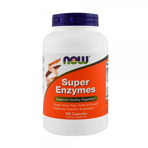 Super Enzymes, Now Foods, 180 capsule 0