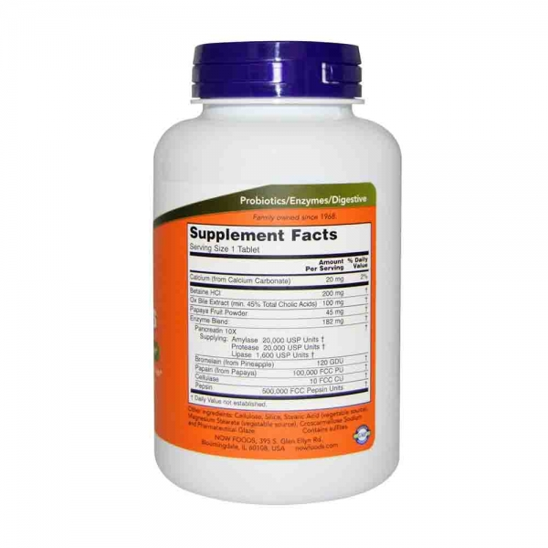 Super Enzymes, Now Foods, 180 capsule 1