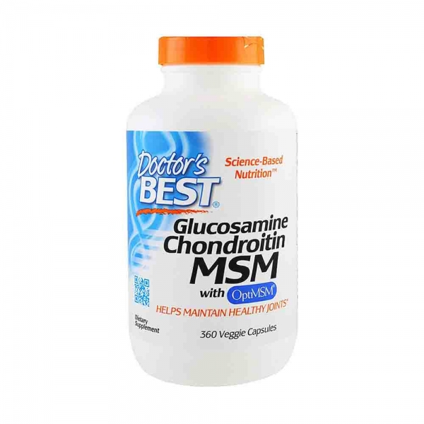 Glucozamina Condroitina si MSM, Best Doctors, 360 capsule 0