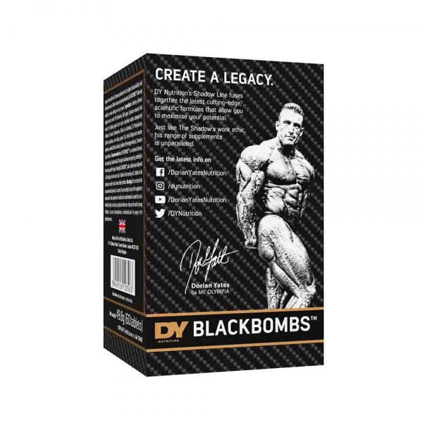 Black Bombs, Dorian Yates, 60 tabs 2