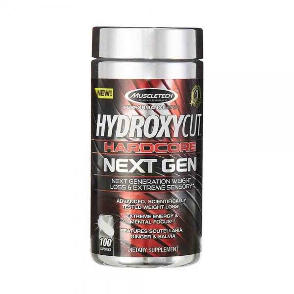 Hydroxycut Hardcore NEXT GEN, MuscleTech, 100 capsule