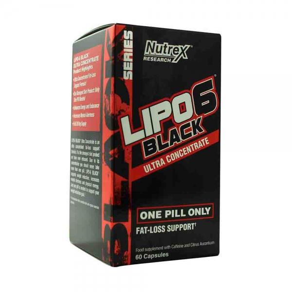 Lipo-6 Black Ultra Concentrate, Nutrex Research, 60 capsule 0