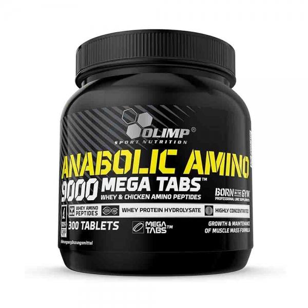 Anabolic Amino 9000 Mega Tabs 300 0