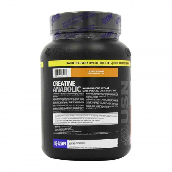 Anabolic Creatine ALL IN ONE, USN, 1800g