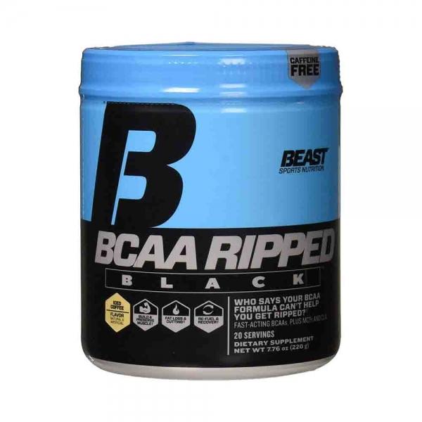 BCAA Ripped Black, Beast Sports Nutrition, 220g/20serviri 0