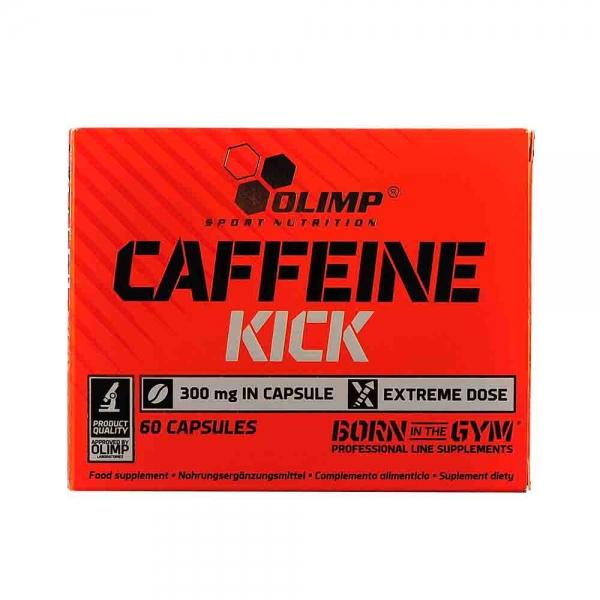 Capsule cafeina, Caffeine Kick, Olimp, 60 caps 0