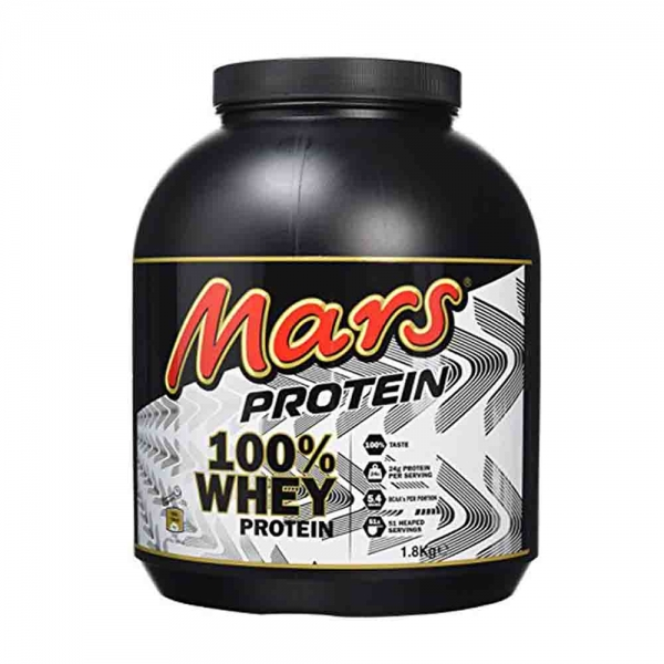 Concentrat Proteic Mars Protein 100% Whey, 1.8kg