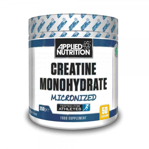 Creatina monohidrata, Applied Nutrition, 250g