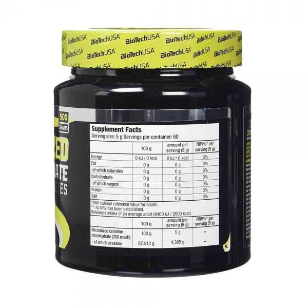 100% Creatina monohidrata, BiotechUSA, 500g
