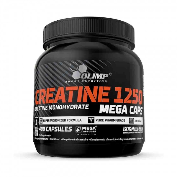 Creatine Mega Caps 1250, 400 Capsule, Olimp Sport Nutrition 0