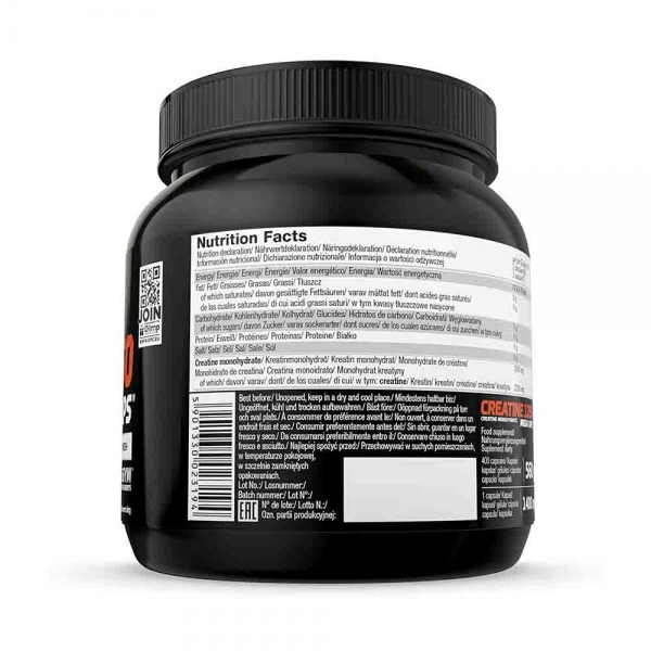Creatine Mega Caps 1250, 400 Capsule, Olimp Sport Nutrition 1