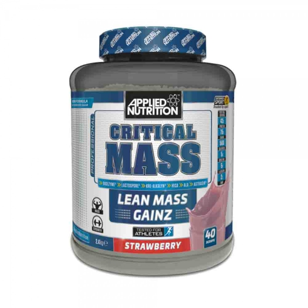 Critical Mass Gainer, Applied Nutrition, 2.4kg
