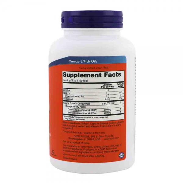 DHA-500, Now Foods, 500 DHA/250 EPA, 90 softgels