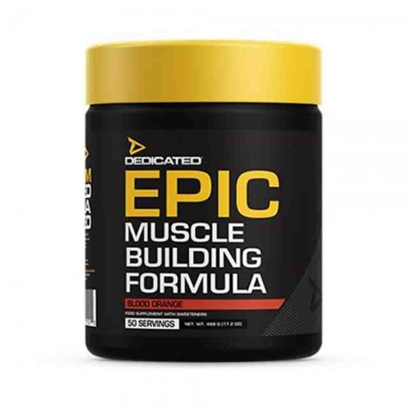 EPIC Pre-workout, Dedicated Nutrition, 488g/50serviri 0
