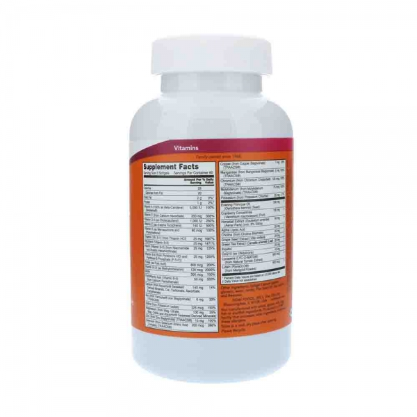 Eve - Multivitamine femei - Now Foods - 180 softgels