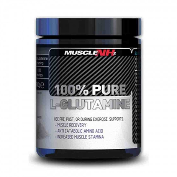 Pure Glutamine 100%, Muscle NH2, 500g