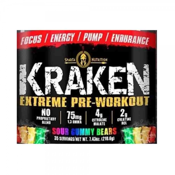 Kraken pre-workout - Sparta Nutrition - 1 serv
