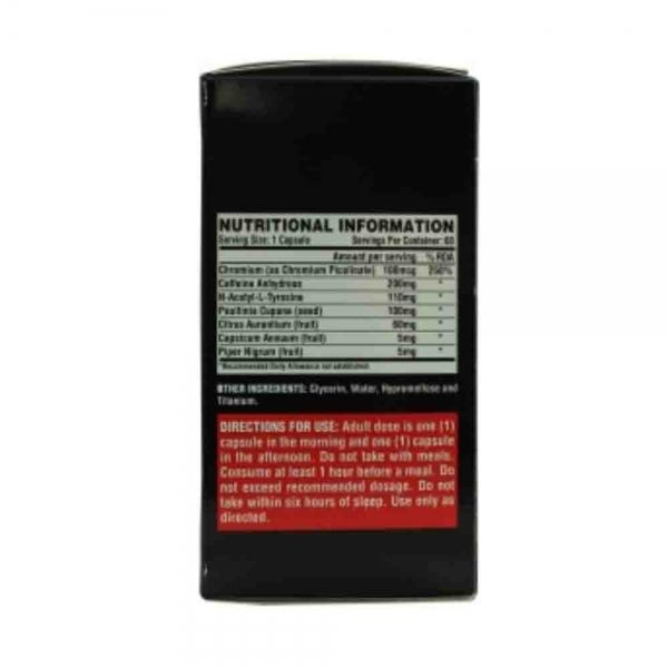 Lipo-6 Black Ultra Concentrate, Nutrex Research, 60 capsule 2
