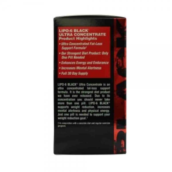 Lipo 6 Black Ultra Concentrat, Nutrex, 60 capsule