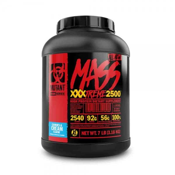 Mass XxxTreme 2500 Gainer, Mutant, 3180g