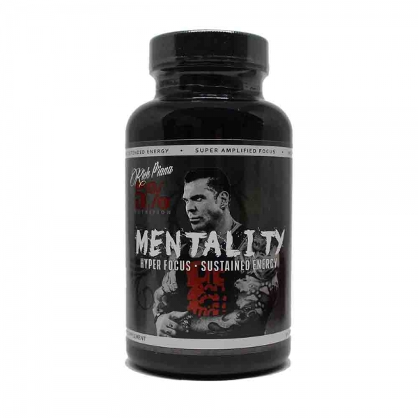 Mentality - 5% Rich Piana - 90 caps