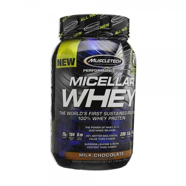 Micellar Whey, Muscletech, 907g, 25serviri 0