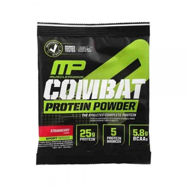 Combat Protein Powder, MusclePharm, 1x33g 0