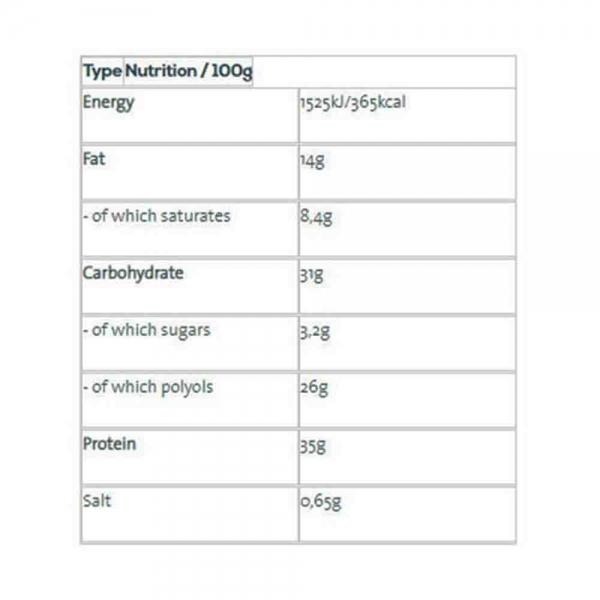 Pandy Protein Bar, Pandy, 18x35g 2