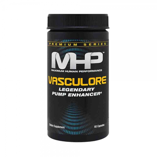Vasculore Legendary Pump Enhancer, MHP, 60 capsule